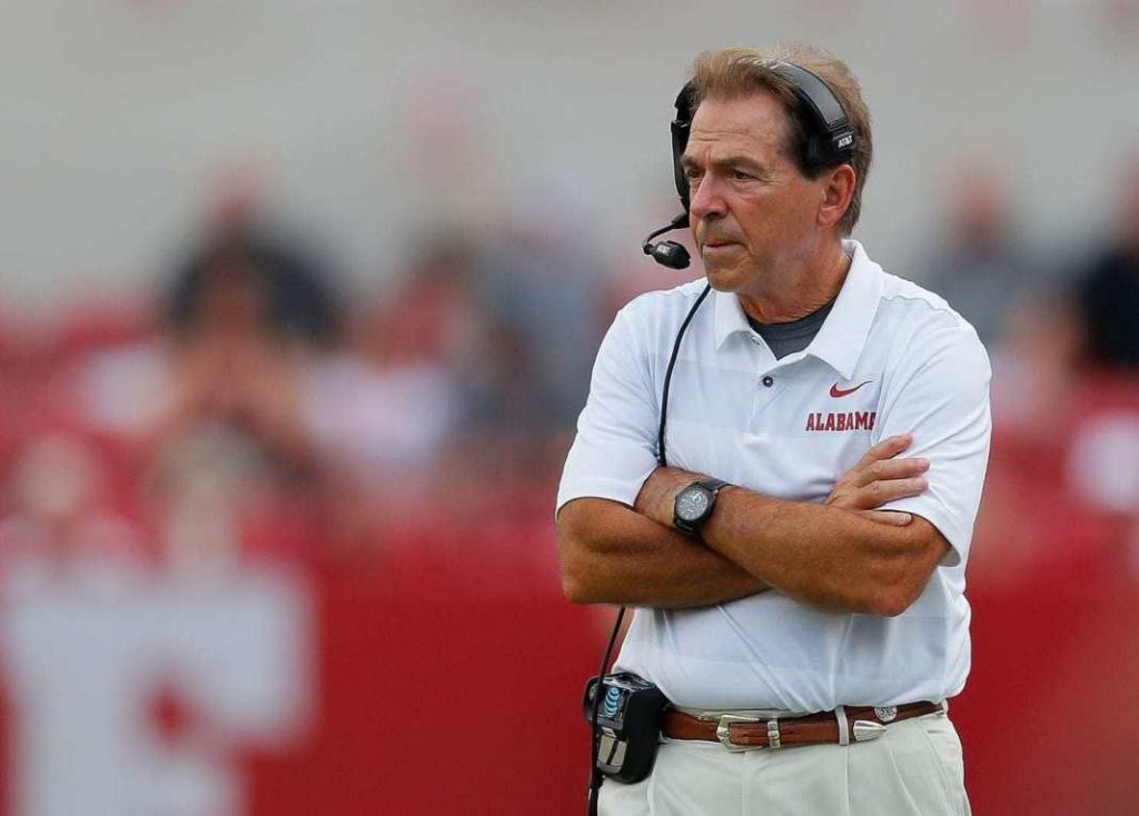 Coach Nick Saban Undergoes Robotic-assisted Hip Replacement Surgery